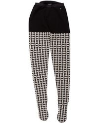 Chanel - Wool Paris-edinburgh Tights W/ Tags - Lyst