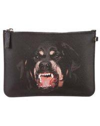 Givenchy - Antigona Rottweiler Clutch Black - Lyst