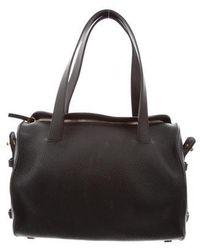 The Row - Drum Bag 12 Satchel Black - Lyst