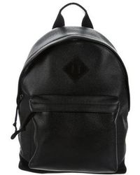 Tom Ford - Grained Leather Backpack Black - Lyst