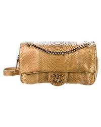Chanel - Python Shiva Flap Bag - Lyst
