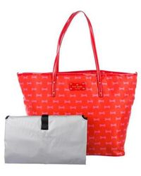 Kate Spade - Bow Shoppe Harmony Diaper Bag Gold - Lyst