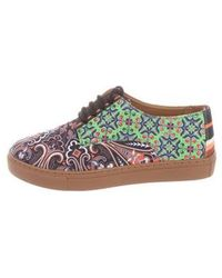 Clover Canyon - Native Paisley Printed Sneakers W/ Tags - Lyst