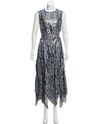 Maison Rabih Kayrouz - Brocade Maxi Dress W/ Tags Multicolor - Lyst