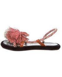 Carven - Maubour Slingback Sandals W/ Tags - Lyst