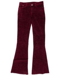 Theyskens' Theory - Low-rise Corduroy Pants - Lyst