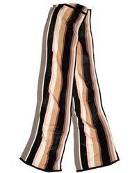 Temperley London - Knit Patterned Scarf - Lyst