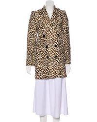 Carven - Wool Short Coat - Lyst