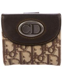 Dior - Diorissimo Compact Wallet Beige - Lyst