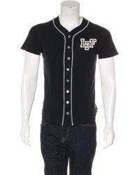 Lucien Pellat Finet - Leaf Baseball Jersey T-shirt - Lyst