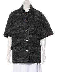 Lucien Pellat Finet - Wool Knit Jacket Grey - Lyst