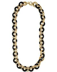 Kenneth Jay Lane - Resin Chain-link Necklace Gold - Lyst