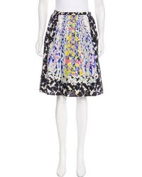 Peter Pilotto - Emma Silk Skirt W/ Tags - Lyst