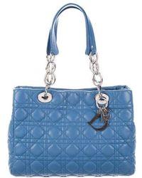 Dior - Soft Shopper Tote Blue - Lyst