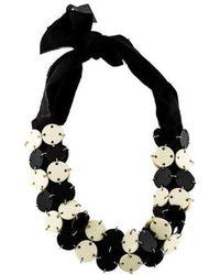 Proenza Schouler - Resin Collar Necklace Silver - Lyst