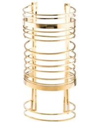 Balmain - Large Bar Cuff Gold - Lyst
