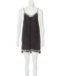Adam Selman - Silk Embellished Dress W/ Tags - Lyst