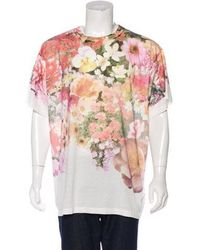 MM6 by Maison Martin Margiela - 2017 Floral Print Oversized T-shirt - Lyst