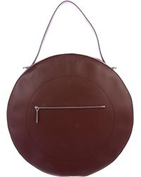 PB 0110 - Large Circle Bag Silver - Lyst