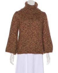 Dorothee Schumacher - Long Sleeve Knit Sweater Tan - Lyst