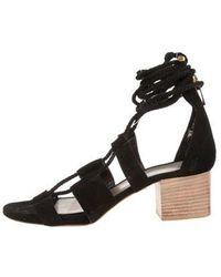 Maiyet - Suede Gladiator Sandals - Lyst