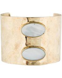 Anndra Neen - Suma Cuff Bracelet Brass - Lyst