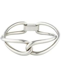Michael Kors - Twisted Bangle Silver - Lyst