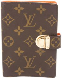 Louis Vuitton - Koala Small Ring Agenda Cover Brown - Lyst