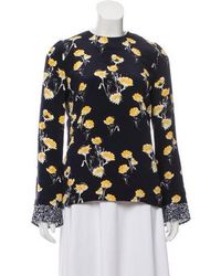 Mother Of Pearl - Hester Floral Blouse - Lyst