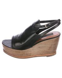 Derek Lam - Leather Wedge Sandals - Lyst