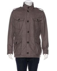 Tom Ford - Felted Military Field Jacket - Lyst