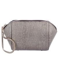 Alexander Wang - Embossed Chastity Clutch Grey - Lyst