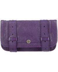Proenza Schouler - Leather Ps1 Pouch Purple - Lyst