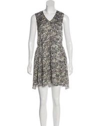 Theyskens' Theory - Sleeveless Silk Dress - Lyst