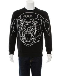 Givenchy - 2017 Stenciled-rottweiler Cotton Sweatshirt - Lyst