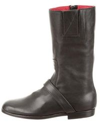 Newbark - Round-toe Leather Boots - Lyst