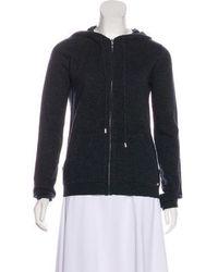 Banjo & Matilda - Hooded Zip-up Sweater W/ Tags Grey - Lyst