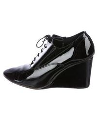 Repetto - Patent Wedge Oxfords - Lyst
