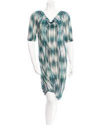 Ports 1961 - Silk Printed Dress - Lyst