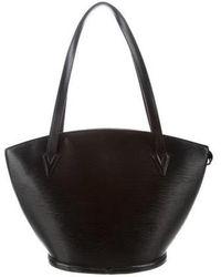 Louis Vuitton - Epi Saint Jacques Gm Black - Lyst