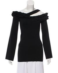 Rebecca Vallance - Tiered Off-the-shoulder Sweater - Lyst