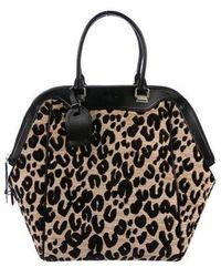 bd44aa34d853 Louis Vuitton - North-south Leopard Chenille Bag Beige - Lyst