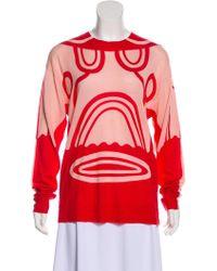 Henrik Vibskov - Wool Patterned Sweater W/ Tags - Lyst
