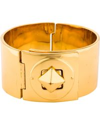 Kate Spade - Locked In Bangle Gold - Lyst