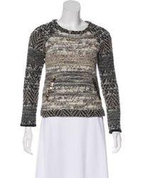 Gryphon - Metallic Bouclé Knit Top Multicolor - Lyst