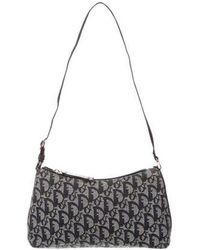 e57c69dc1b7 Lyst - Dior Diorissimo Shoulder Bag Black in Metallic