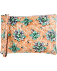 Mary Katrantzou - Printed Ponker Pouch Orange - Lyst