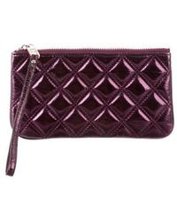 Marc Jacobs - Quilted Zip Pochette - Lyst