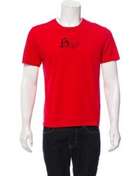 Dior Homme - 2006 Help Me Print T-shirt Red - Lyst