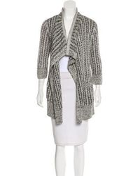 Thakoon - Open Front Knit Cardigan - Lyst